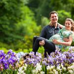 sesja ciążowa, maternity, Ogród Botaniczny