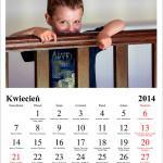 kalendarz ze zdjęć