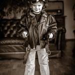 portret, Harley Davidson
