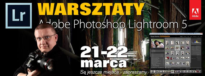 warsztaty Adobe Lightroom 5