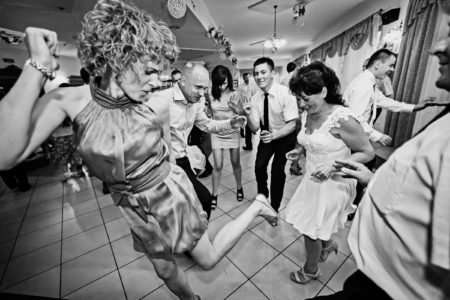 reportaż ślubny, przyjęcie