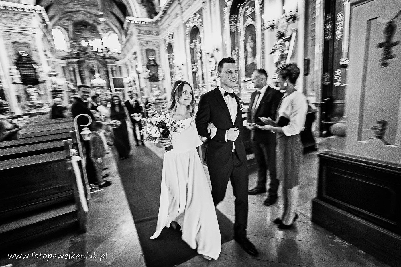zdjęcia ślubne Lublin, fotograf Paweł Kaniuk
