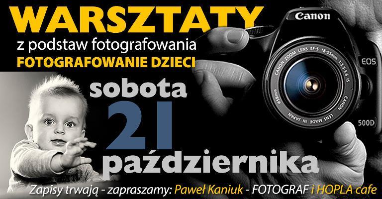 warsztaty z podstaw fotografi, fotografowanie dzici