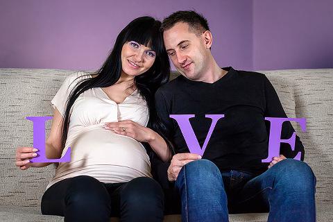 fotografia ciąży